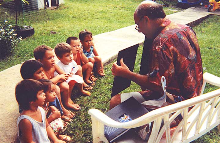 Speaking with School Children